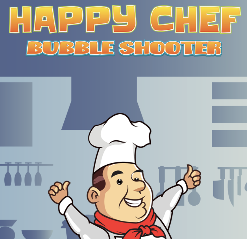 Happy Chef Bubble Shooter Game